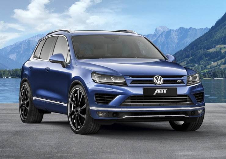 Volkswagen Touareg 3,0 TDI od ABT