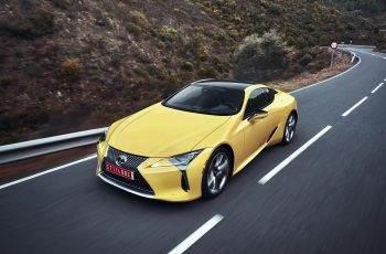 Nowy Lexus LC F