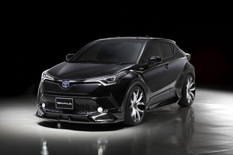 Toyota C-HR z pakietem aerodynamicznym WALD Sports Line